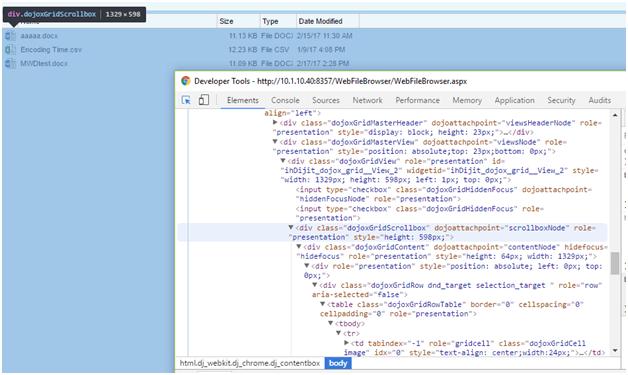 chrome-developer-tool